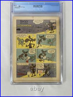Four Color #1128 CGC 4.5! 1st Rocky & Bullwinkle! Dell 1960 HTF