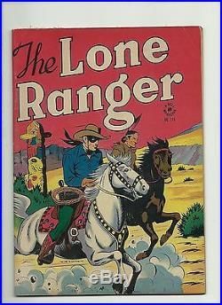 Four Color#118 1946 Dell The Lone Ranger Golden Age Tonto/silver