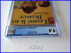 Four Color 1191 Cgc 9.0 Leave It To Beaver Abc Tv Jerry Mathers 1961 Dell Comics