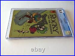 Four Color 1208 Cgc 8.5 Rocky And His Friends Bullwinkle Peabody Dell Comics