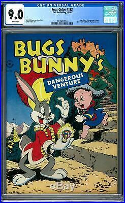 Four Color #123 CGC 9.0 (W) Bugs Bunny's Dangerous Venture