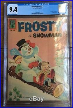 Four Color #1272 Frosty The Snowman CGC 9.4 1961