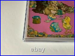 Four Color 140 Cgc 3.5 Easter With Mother Goose Walt Kelly Dell Comics 1947