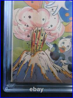 Four Color #147 CGC 6.0 VINTAGE Dell Comic Donald Duck Carl Barks Volcano Valley