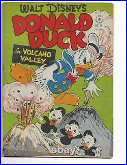 Four Color 147 F/vf 7.0 Donald Duck Huey Dewey Louie Barks (1947)