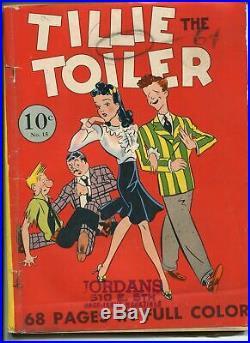 Four Color #15 1941 Dell -VG- Comic Book