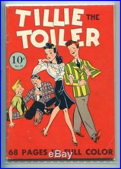 Four Color #15 Solid Grade Tillie The Toiler #1 Hilarious Cover Gem