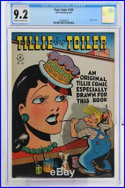 Four Color # 150 CGC 9.2 Dell 1947 Tillie the Toiler Golden Age
