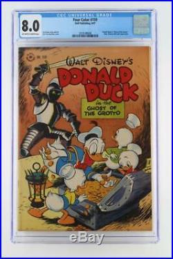 Four Color #159 CGC 8.0 VF Dell 1947 Donald Duck, Huey, Dewey & Louie Apps
