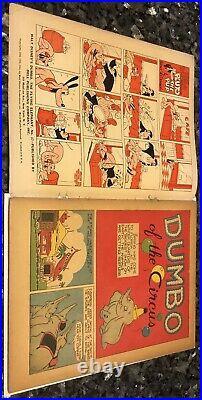 Four Color #17, 2.5,1941, #668 Cgc8.0 1955 Dell Black Label Dumbo 1st Print
