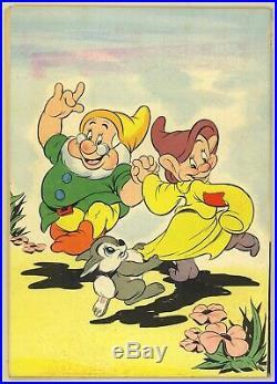 Four Color #19 1943 VG 4.0 River City Pedigree Thumper Seven Dwarfs Dell Comic