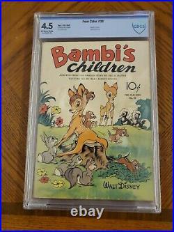 Four Color #30 Bambi's Children(cbcs 4.5)