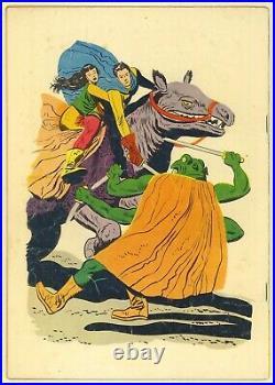Four Color #375 John Carter of Mars (Dell 1952) Edgar Rice Burroughs Origin
