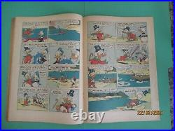 Four Color #386 1952 Uncle Scrooge #1 Only a Poor Old Man Carl Barks FC 386