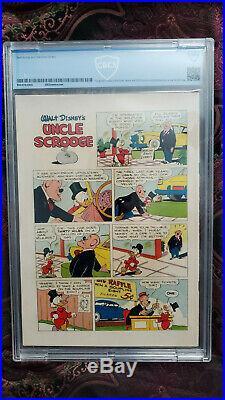 Four Color #386 CBCS 5.5 Uncle Scrooge #1 Four Color #178 CGC 5.5 First App