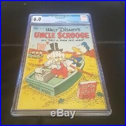 Four Color #386 CGC 6.0 -Dell 1953- Donald Duck App Uncle Scrooge #1
