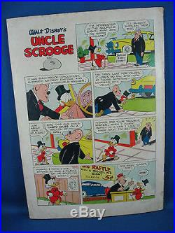 Four Color 386 UNCLE SCROOGE Fine or better First Issue Carl Barks 1952