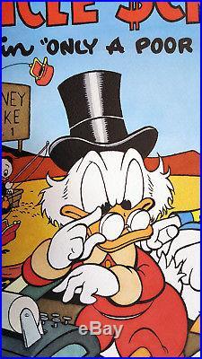 Four Color #386 Uncle Scrooge Original Cover Art Recreation