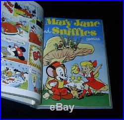 Four Color #397-#408 Bound Dell File Volume Donald Duck #24/Space Cadet #2/Barks