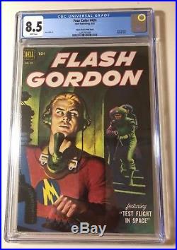 Four Color #424 CGC 8.5. Flash Gordon. Space Test Flight. Edgar Church Mile High
