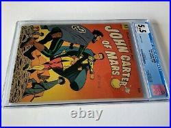 Four Color 437 Cgc 5.5 John Carter Of Mars Pre Code Burroughs Dell Comics 1952
