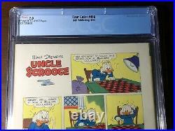 Four Color #456 (1953) Uncle Scrooge Klondike CGC 7.0! Carl Barks