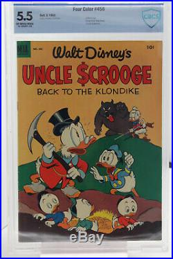 Four Color # 456 CBCS 7.0 Dell Uncle Scrooge, Huey, Dewy & Louie appearance