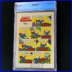 Four Color #456 CGC 7.0 Carl Barks Uncle Scrooge Klondike Comic Dell 1953