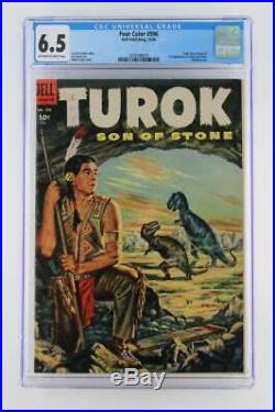 Four Color #596 CGC 6.5 FN+ Dell 1954 1st App of Turon and Andar