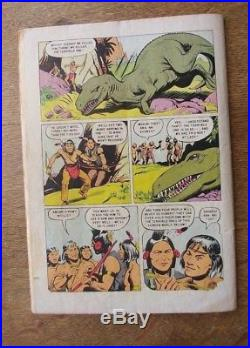 Four Color 596 Dell. 1954- Golden Age. TUROK Son of Stone First appearance