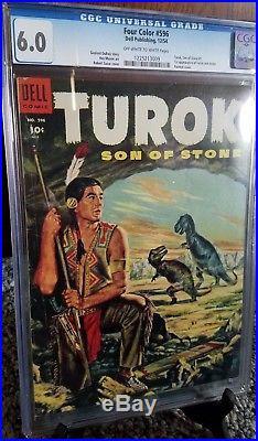 Four Color #596 Turok Son of Stone CGC 6.0
