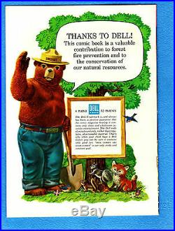 Four Color #653 Smokey the Bear (#1), NM- 9.2, 1955