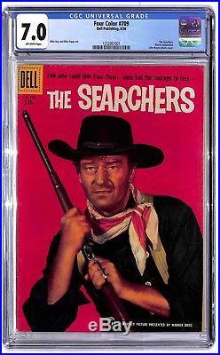 Four Color #709 The Searchers 1956 Dell CGC 7.0