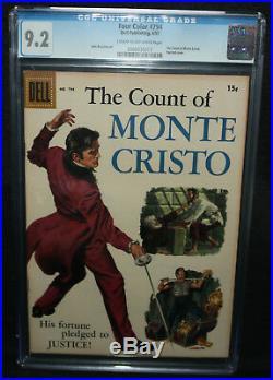 Four Color #794 The Count of Monte Cristo CGC Grade 9.2 1957