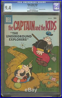 Four Color 881 CGC 9.4 The Captain and the Kids