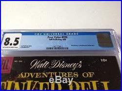 Four Color 896 Cgc 8.5 Adventures Tinker Bell Walt Disney Peter Pan Dell Comics
