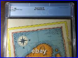 Four Color #9 (1942) 1st Carl Barks Donald Duck! CGC 1.8 Key
