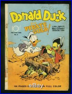 Four Color #9 1942 Dell -G+ Comic Book