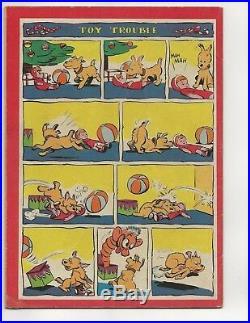 Four Color #91 (santa Claus Funnies) Vf- Golden Age 1945 Walt Kelly Art Dell