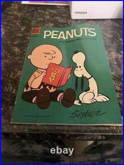 Four Color #969 (Peanuts) Schulz Charlie Brown Snoopy Dell Comic 1959 GD+