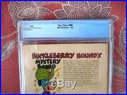 Four Color # 990 CGC 4.0 VG Hucklebery Hound # 1