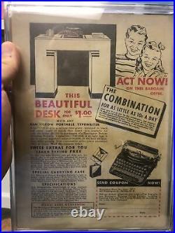 Four Color Comics #1 CGC 4.0 Dell 1939 Dick Tracy cover! Series 1 E9 cm H10