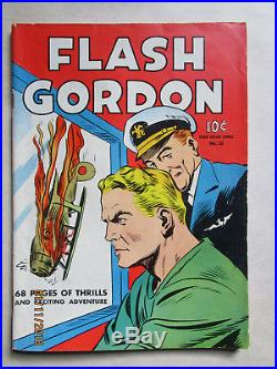 Four Color Comics # 10 Flash Gorden Higher Grade Nice