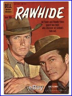 Four Color Comics #1097- Rawhide Clint Eastwood photo cvr-VF/NM