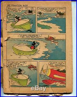 Four Color Comics #16 1941 -Dell-Mickey Mouse-The Phantom Blot-PR
