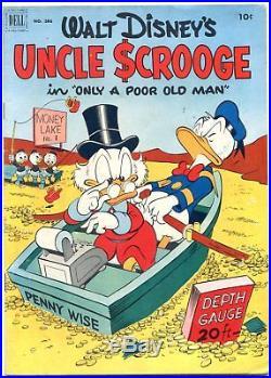 Four Color Comics #386 1952- 1st UNCLE SCROOGE- Carl Barks VF