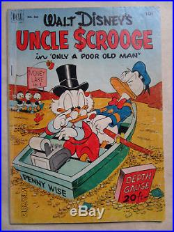 Four Color Comics # 386 Aka Uncle Scrooge # 1 By Carl Barks
