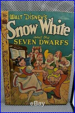 Four Color Comics #49 Walt Disney's Snow White Dell Golden Age Comics 1944 5.0