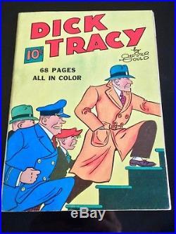 Four Color Comics (Series 1) #nn (#1) Dick Tracy CGC Restored Fine+