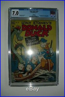 Four Color DONALD DUCK #318, Dell, CGC 7.0 grade, Carl Barks story & art
